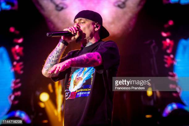 Performs At Forum on April 20 2019 in Milan Italy