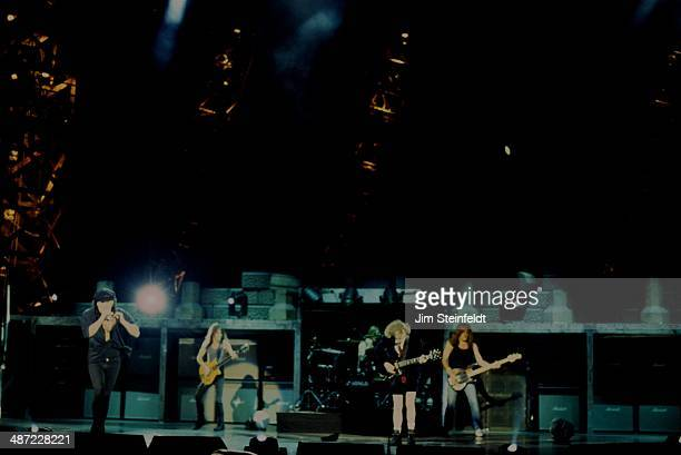 DC performs at Irvine Meadows in Irvine California on the Ballbreaker tour on August 16 1996
