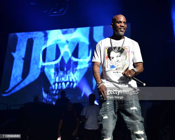 DMX performs at Masters Of Ceremony 2019 at Barclays Center on June 28 2019 in New York City