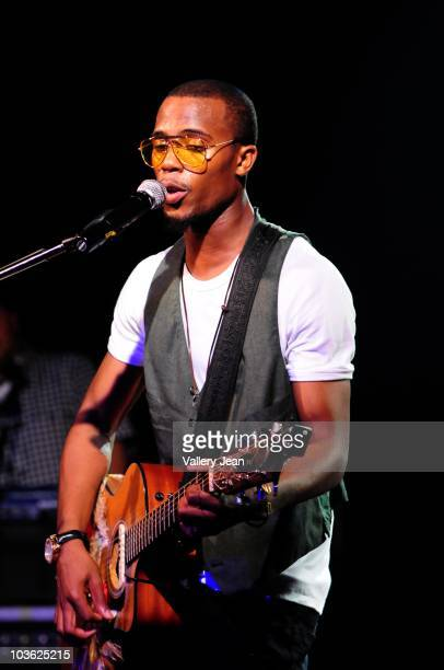 B performs at Revolution on August 24 2010 in Fort Lauderdale Florida
