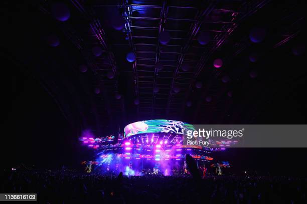 Performs at Sahara Tent during the 2019 Coachella Valley Music And Arts Festival on April 12, 2019 in Indio, California.