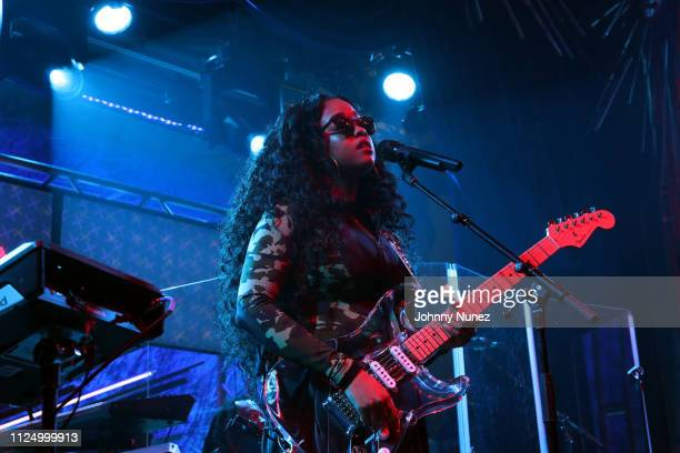 R performs at Sony Hall on February 14 2019 in New York City