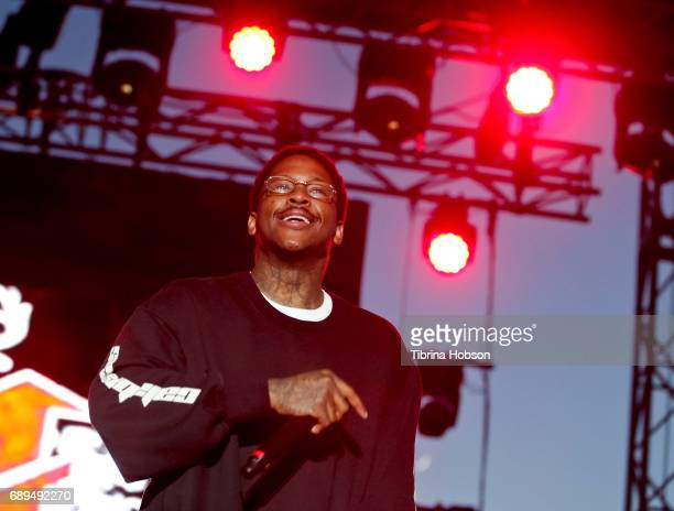 YG performs at the 1st annual Ship Show Music Festival on May 27 2017 in Alameda California