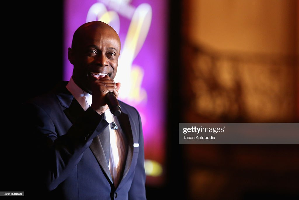 KEM performs at the 2014 Steve & Marjorie Harvey Foundation Gala presented by Coca-Cola at the Hilton Chicago on May 3, 2014 in Chicago, Illinois.