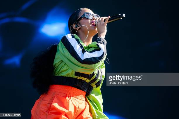 Performs at the 2019 Lollapalooza Music Festival at Grant Park on August 01, 2019 in Chicago, Illinois.