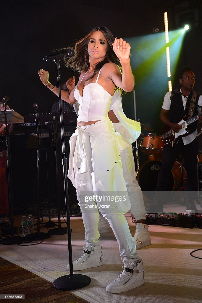 CIARA performs at the 4th Annual Apollo In The Hamptons Benefit on August 24, 2013 in East Hampton, New York.