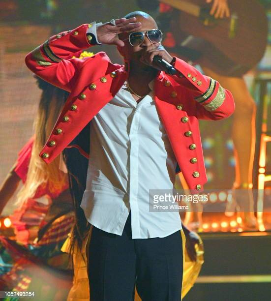 I performs at the BET Hip Hop Awards 2018 at Fillmore Miami Beach on October 6 2018 in Miami Beach Florida