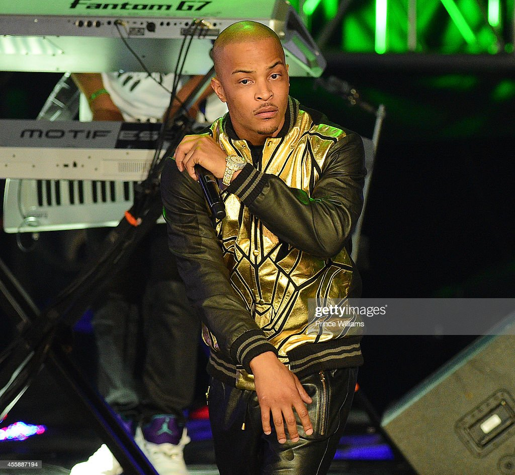 T.I. Performs at The BET Hip Hop Awards at Boisfeuillet Jones Atlanta Civic Center on September 20, 2014 in Atlanta, Georgia.