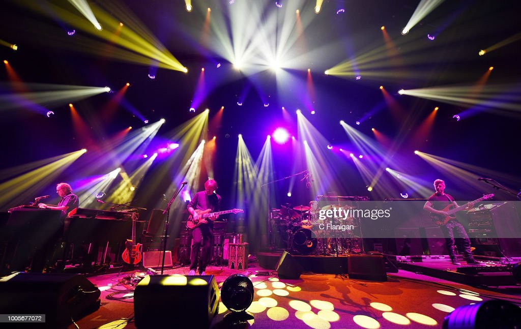 PHISH performs at the Bill Graham Civic Auditorium on July 25, 2018 in San Francisco, California.