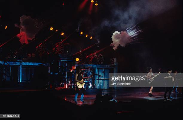 DC performs at the Great Western Forum in Inglewood California on February 21 1996