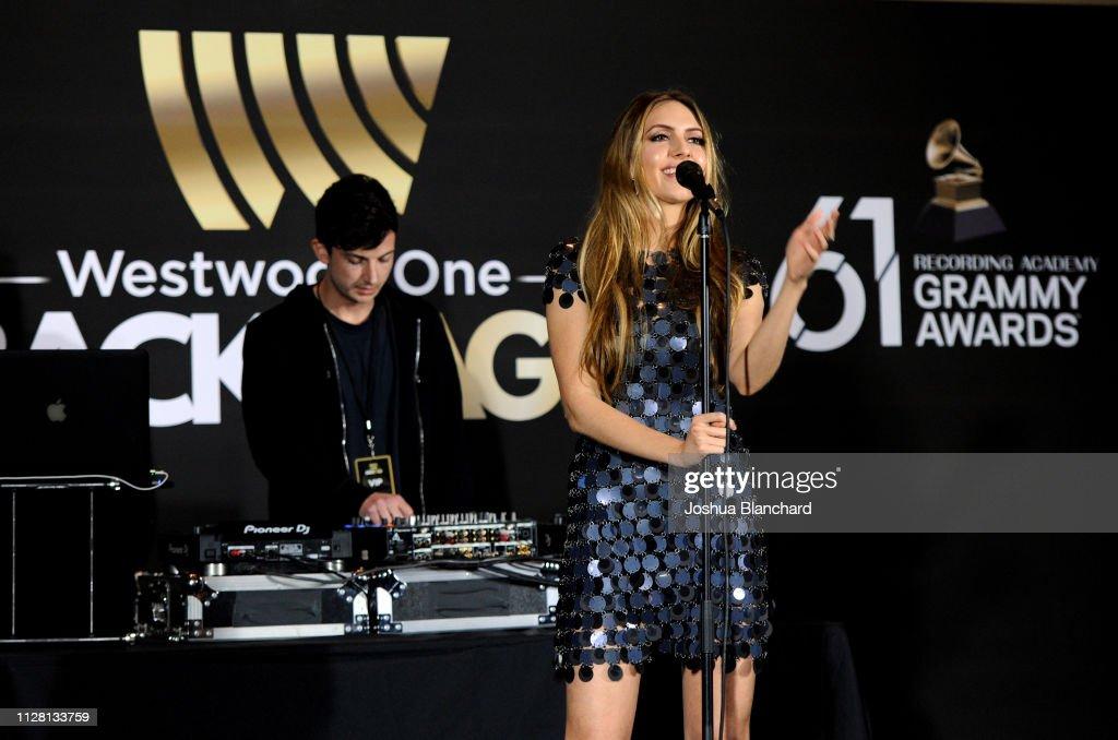 61st Annual GRAMMY Awards - Westwood One Radio Roundtables : News Photo