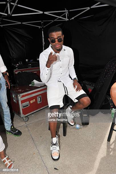 OMI performs at YTV Summer Beach Bash at Canada's Wonderland on August 8 2015 in Vaughan Ontario