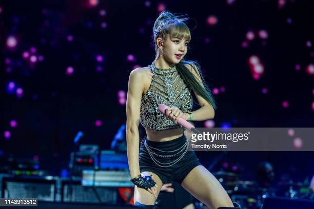 BLACKPINK performs during 2019 Coachella Valley Music And Arts Festival on April 19 2019 in Indio California