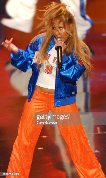 3LW Performs during 9th Annual Soul Train Lady of Soul Awards Show in Pasadena California United States