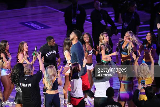 DNCE performs during State Farm AllStar Saturday Night as part of the 2017 NBA AllStar Weekend on February 18 2017 at the Smoothie King Center in New...