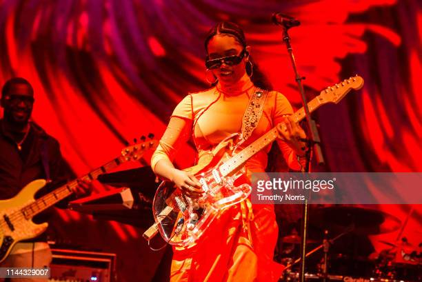 R performs during the 2019 Coachella Valley Music And Arts Festival on April 21 2019 in Indio California