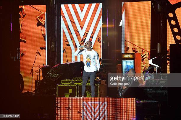 KO performs during the 7th annual Maftown Heights 2016 concert at the Mary Fritzgerald Square on November 25 2016 in Johannesburg South Africa Dubbed...