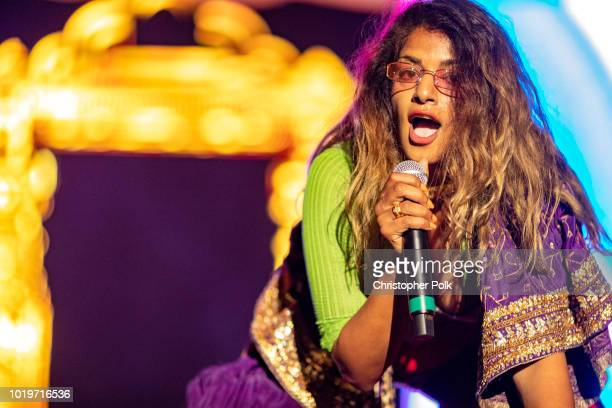 A performs during the All My Friends Music Festival on August 19 2018 in Los Angeles California