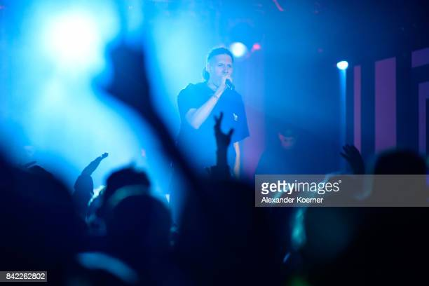 Performs during the Bread & Butter by Zalando at Festsaal Kreuzberg on September 3, 2017 in Berlin, Germany.