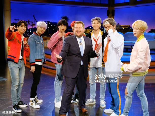 """Performs during """"The Late Late Show with James Corden,"""" Thursday, November 30, 2017 On The CBS Television Network."""