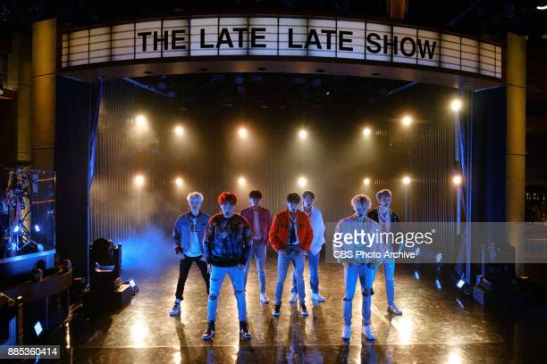 BTS performs during The Late Late Show with James Corden Thursday November 30 2017 On The CBS Television Network