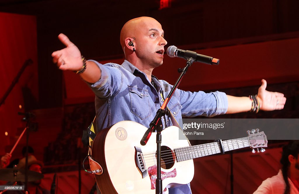 SIE7E performs during the Latin GRAMMY Acoustic Sessions Miami with Diego Torres at New World Center on November 3, 2015 in Miami Beach, Florida.