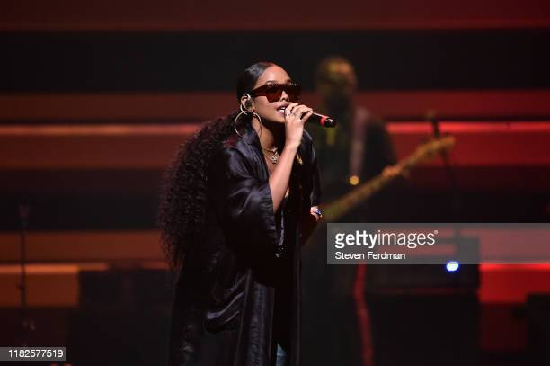 Performs during the TIDAL's 5th Annual TIDAL X Benefit Concert TIDAL X Rock The Vote At Barclays Center - Show at Barclays Center of Brooklyn on...