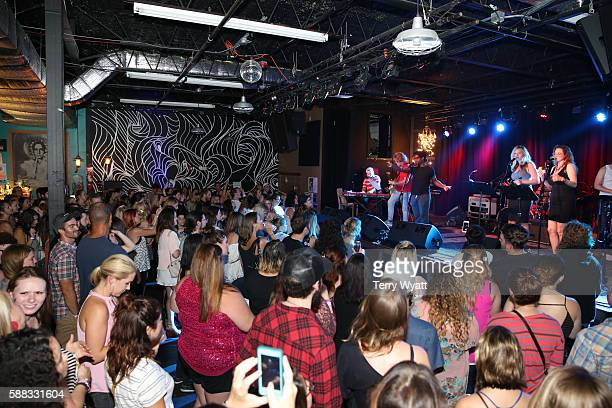 Performs during the Young Entertainment Professionals Quarterly YEP Rewind Benefit Show at The Basement East on August 10, 2016 in Nashville,...