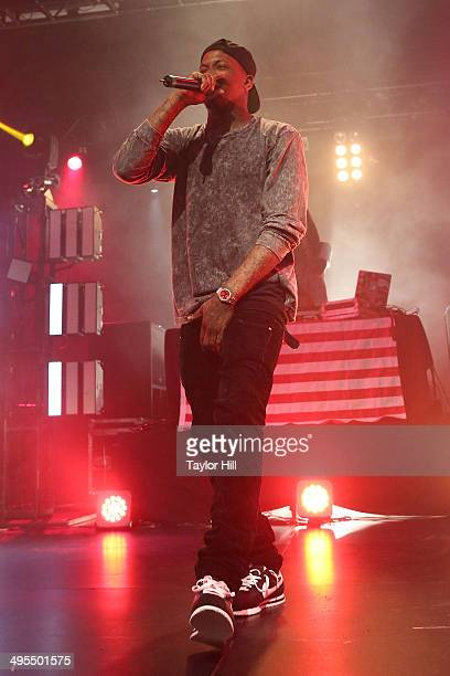 YG performs in concert at Best Buy Theater on June 3 2014 in New York City