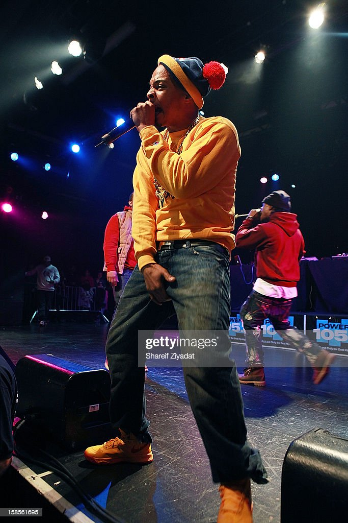 T.I. performs in concert hosted by POWER 105.1 at Best Buy Theater on December 18, 2012 in New York City.