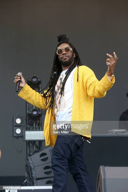 M performs in concert on the last day of the Austin City Limits Music Festival at Zilker Park on October 15 2017 in Austin Texas