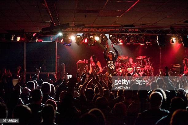 P performs in front of a sold out crowd at the Alrosa Villa on March 5 2010 in Columbus Ohio