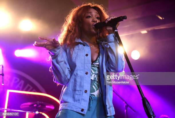 SZA performs in support of her 'Ctrl' release at Ace of Spades on September 10 2017 in Sacramento California