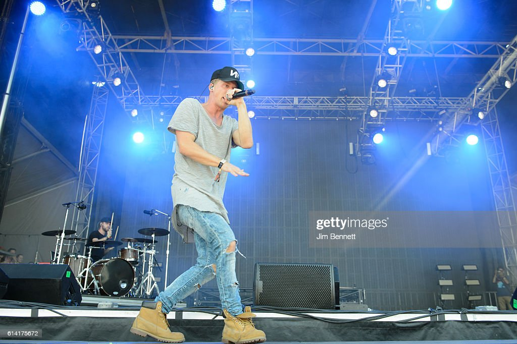 NF performs live at Austin City Limits Festival at Zilker Park on October 9, 2016 in Austin, Texas.