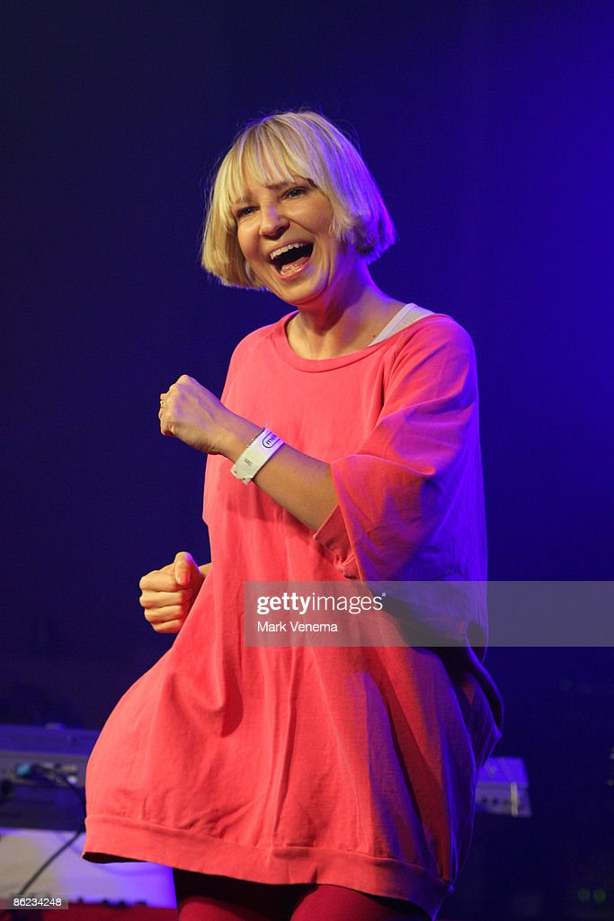 SIA Perform In Amsterdam : News Photo