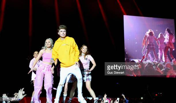HRVY performs live on stage at The O2 Arena on April 28 2018 in London England