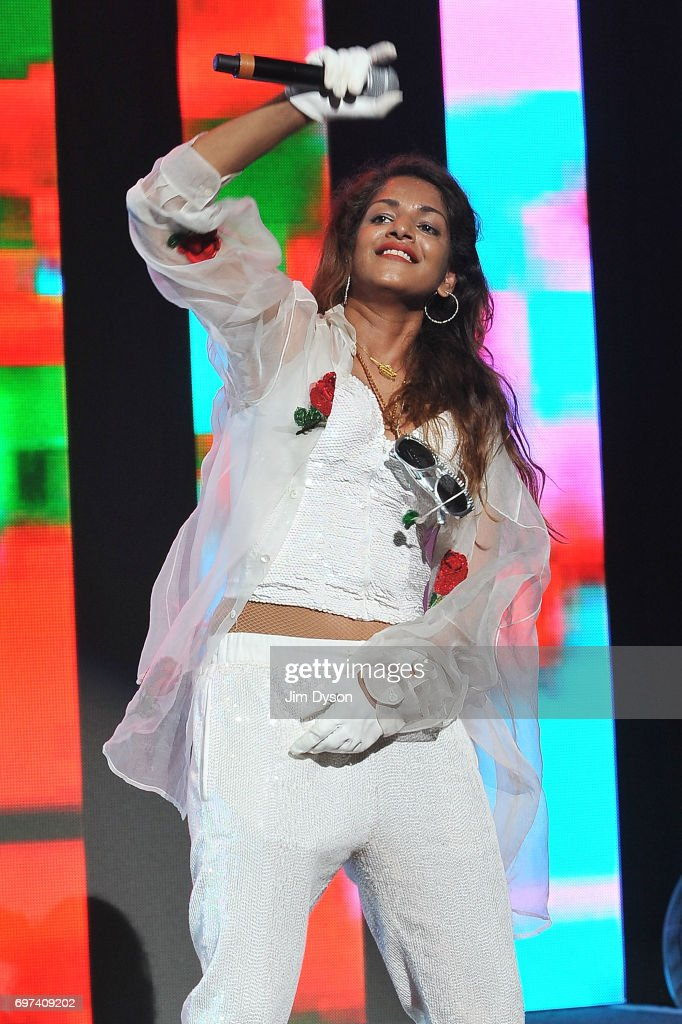 M.I.A. Performs At Meltdown Festival