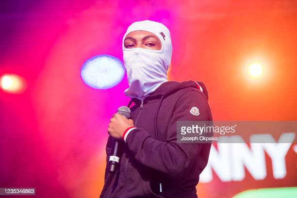 Performs on day 1 of Strawberries & Creem Festival 2021 at Childerley Orchard on September 18, 2021 in Cambridge, England.