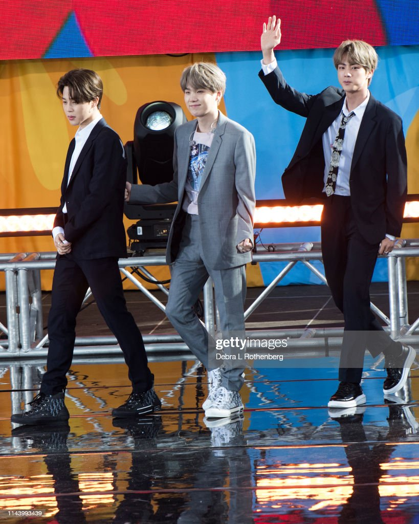 "BTS Performs On ""Good Morning America"" : News Photo"