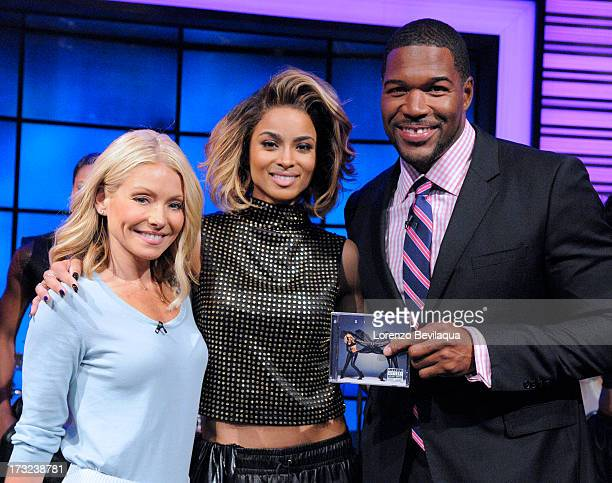 MICHAEL 7/10/13 CIARA performs on LIVE with Kelly and Michael distributed by DisneyWalt Disney Television via Getty Images Domestic Television KELLY