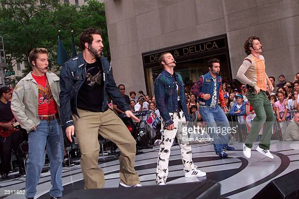 performs on NBC's Today Show at Rockefeller Plaza in New York City Photo Evan Agostini/ImageDirect