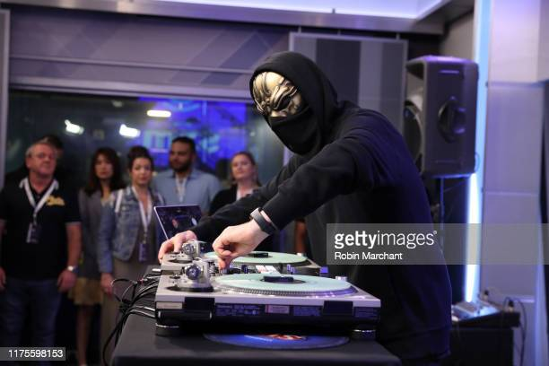 Performs on SiriusXM's Diplo's Revolution Channel at SiriusXM Studios on September 18, 2019 in New York City.