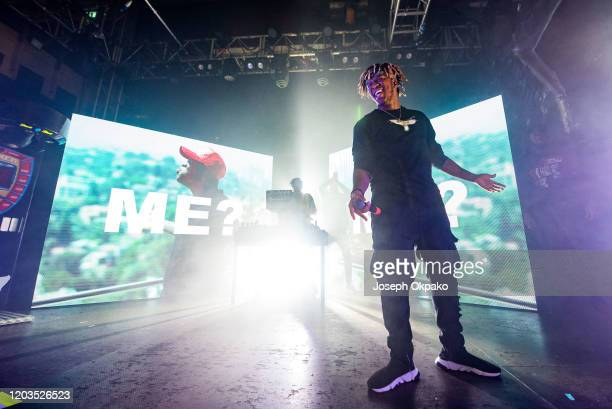 Performs on stage at O2 Academy Islington on February 1, 2020 in London, England.