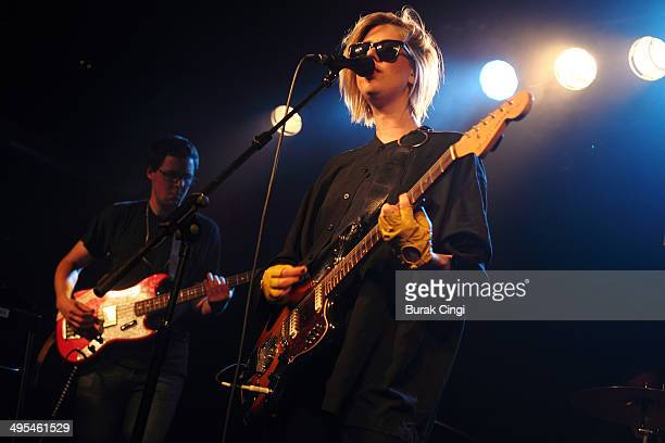 EMA performs on stage at The Garage on June 3 2014 in London United Kingdom