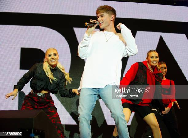 HRVY performs on stage during Hits Radio Live 2019 at MS Bank Arena on November 15 2019 in Liverpool England