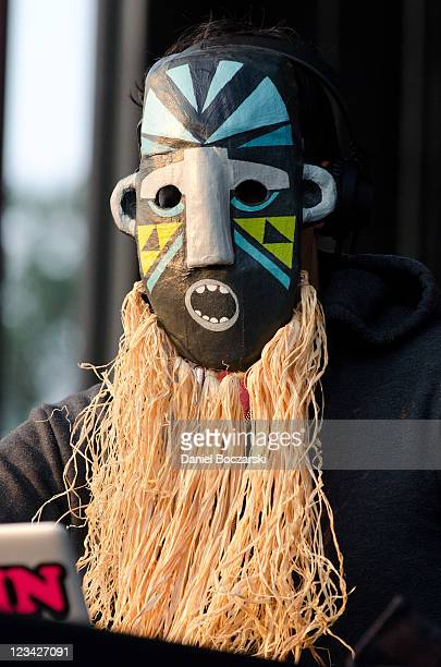 SBTRKT performs on stage during North Coast Music Festival at Union Park on September 2 2011 in Chicago United States