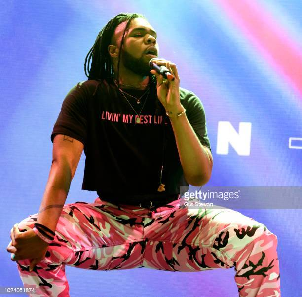 MNEK performs on the second stage at RiZE Festival on August 17 2018 in Chelmsford United Kingdom