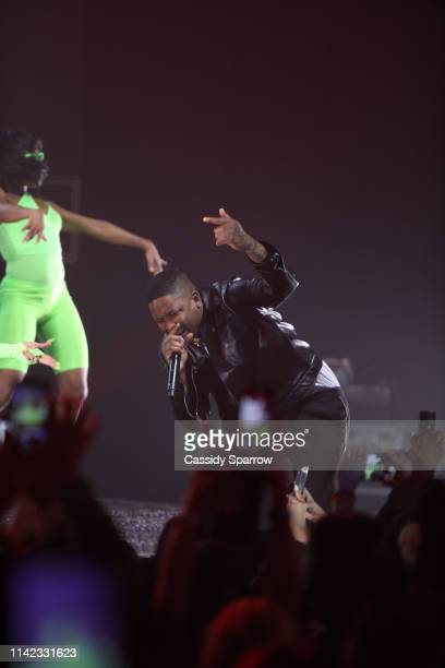 YG performs onstage as Fashion Nova Presents Party With Cardi at Hollywood Palladium on May 9 2019 in Los Angeles California