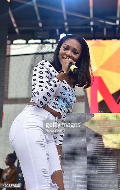 KISS performs onstage at A3C Hip Hop Festival Conference Hot 1079 Beerandtacos presents Next 2 Go on October 11 2015 in Atlanta Georgia