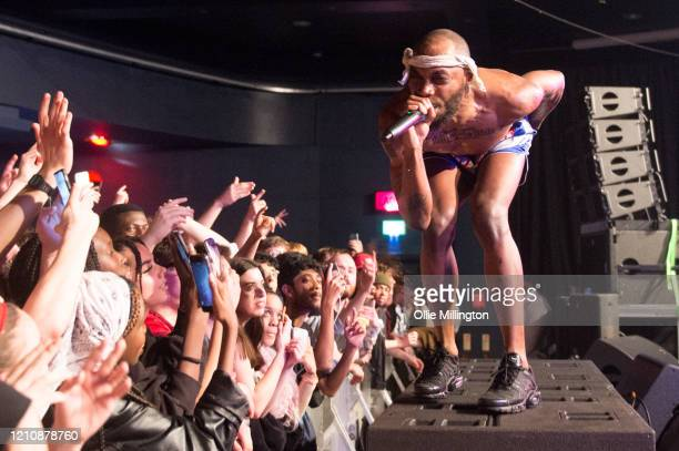 JPEGMAFIA performs onstage at EartH on March 06 2020 in London England